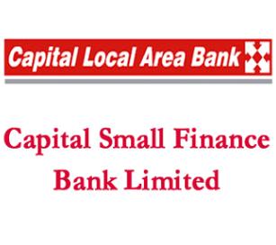 Capital Small Finance Bank Ltd