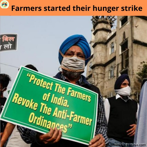 Farmers' leaders on hunger strike today as protest against new laws intensifies