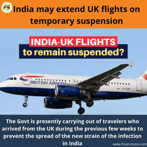 India may extend UK flights on temporary suspension