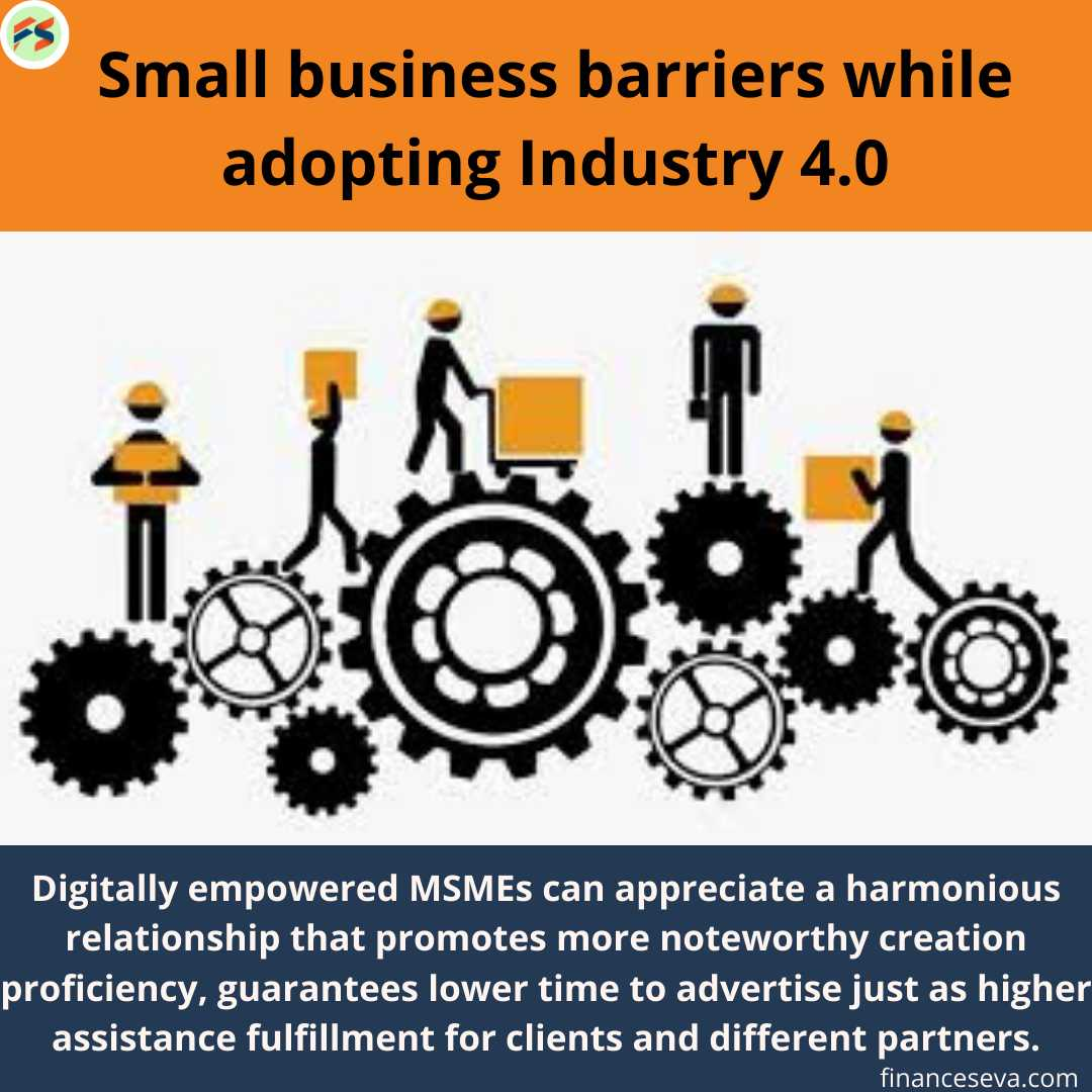 Small Business Barriers while Adopting Industry 4.0