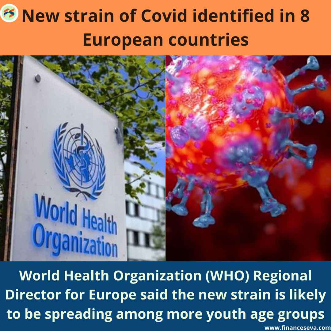 New Strain of Covid Identified in 8 European Countries