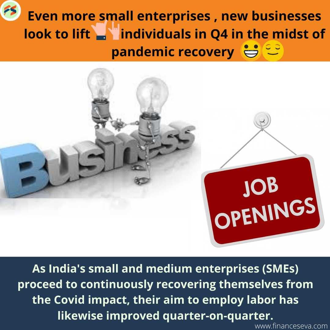 Even more small enterprises, new businesses look to lift individuals in Q4 in the midst of pandemic recovery